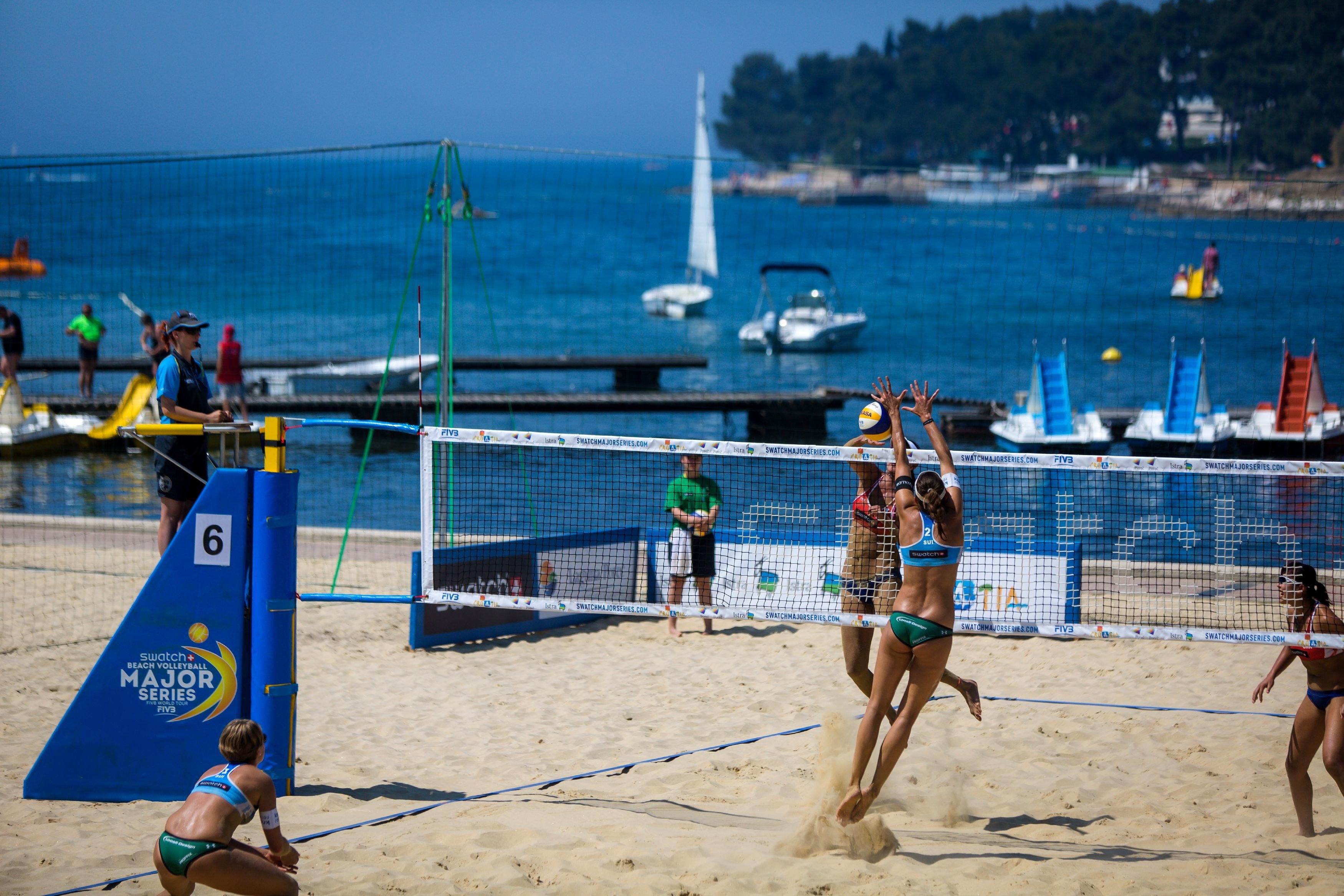 TimeOut Beachvolleyball Camp Porec